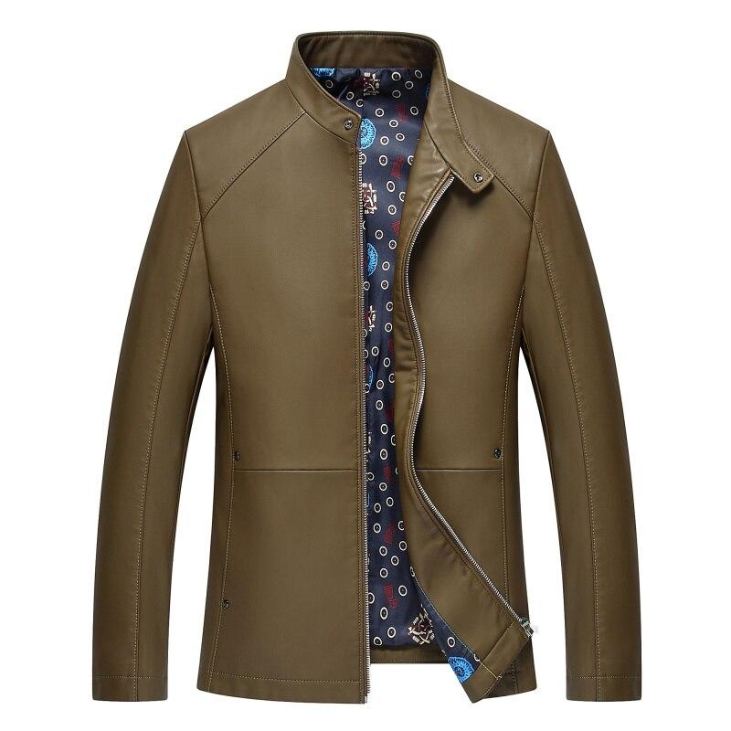1715 nouvelle mode hommes automne vêtements homme printemps veste moto vestes hommes en cuir veste mince manteau - 5