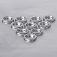 10 шт. 2 мм велосипедная цепь колеса винт шайба алюминиевая прокладка двойная замена один