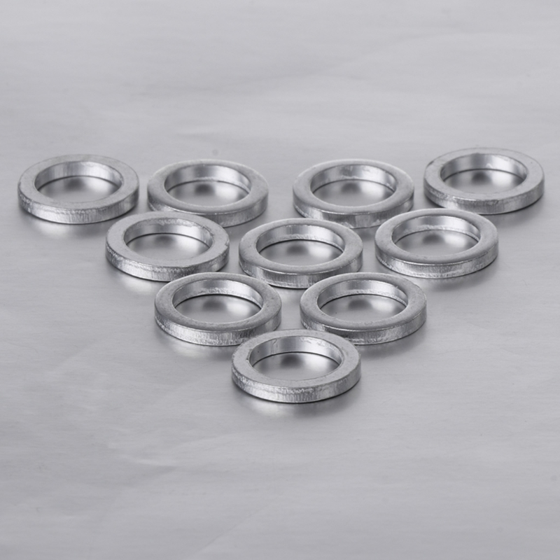 10Pcs 2mm Bicycle Chain Wheel Screw Washer Aluminum Spacer Double Change Single(China)
