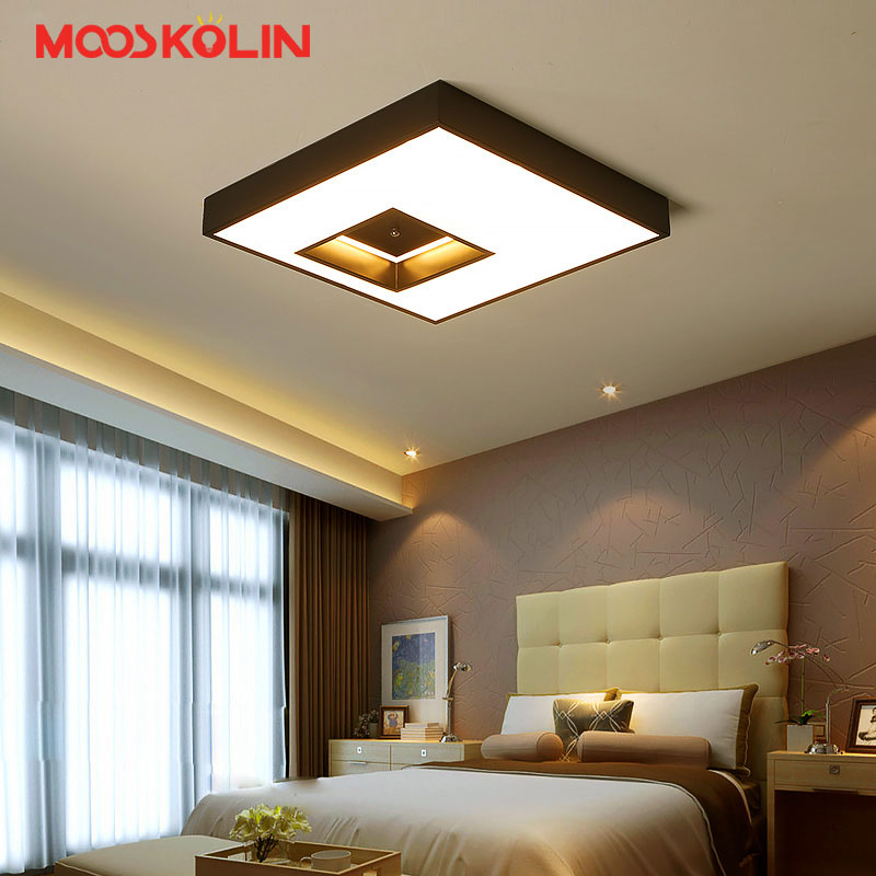 Square Modern Ceiling Lights Plafonnier Led Lamp Plafondlamp Home Lighting Ceiling Fixtu ...