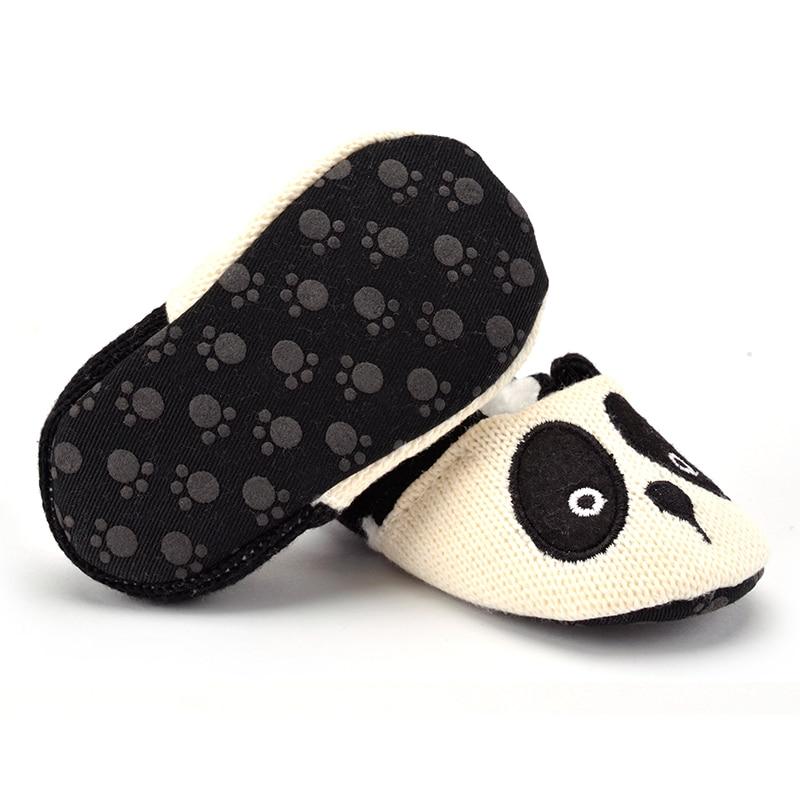 Weixinbuy Toddler Baby Girls Boys Cartoon Pattern Anti-Slip Soft Sole Prewalker Shoes