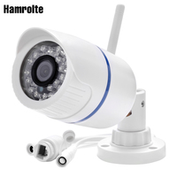 Hamrolte 720P Yoosee AP Connection Wifi Camera Onvif Wired Wireless Nightsivion IP Camera Support SD Card Slot,Motion Detection