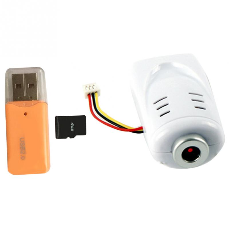 Juguete Servo accesorios HD WiFi FPV Cámara + tarjeta de memoria lector de tarjeta de memoria conjunto para Syma X5C X5SC X5HC X5HW JJRC H5C espaà a