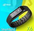 """Atacado vidonn x6 0.88 """"ip65 bluetooth v4.0 smart watch pulseira pulseira w/pista de desporto/sono monitor de exibição de mensagem"""
