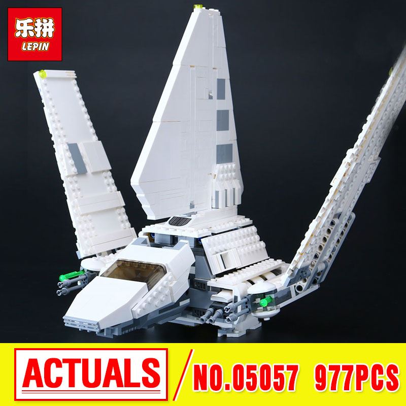 New LEPIN 05057 Star  Series Shuttle Tydirium Building Blocks Bricks  Assembled Toys Compatible with 75094 Gifts War lepin 05040 y attack starfighter wing building block assembled brick star series war toys compatible with 10134 educational gift