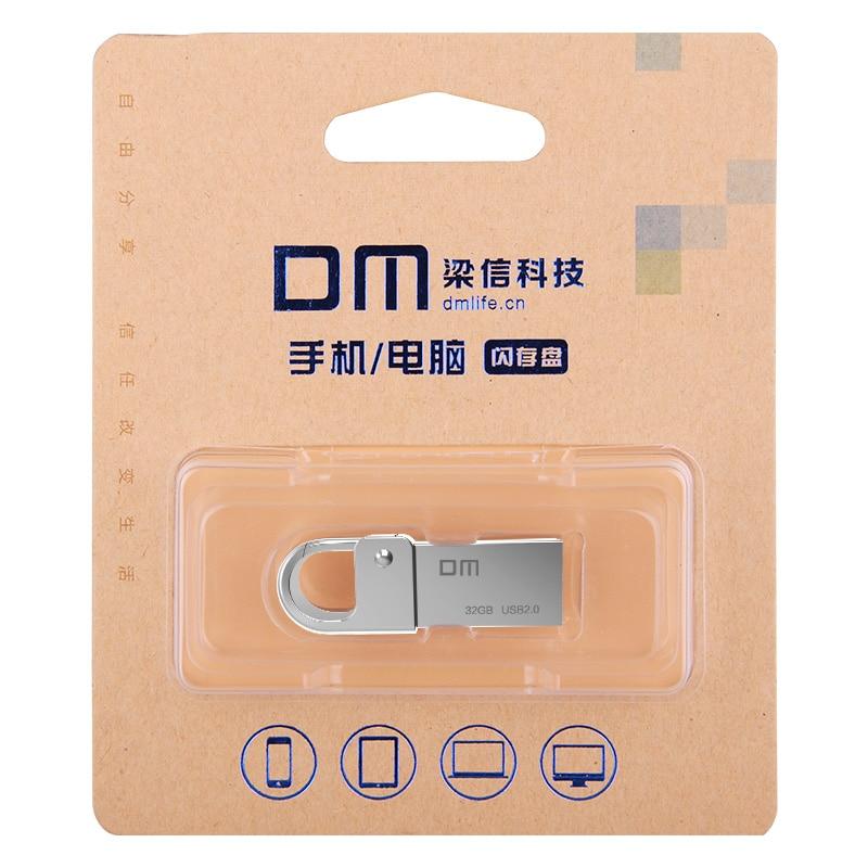 Gratis frakt DM PD027 8G 16G 32GB USB-minnepenn Metallpennsats - Extern lagring - Foto 5