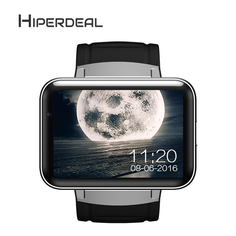 HIPERDEAL Bluetooth 3G Android Smart Watch SIM Phone 4GB Front Camera Dual Core Multi languages Bluetooth WristWatch Oct1 y3 android 5 1 3g smart watch phone brown