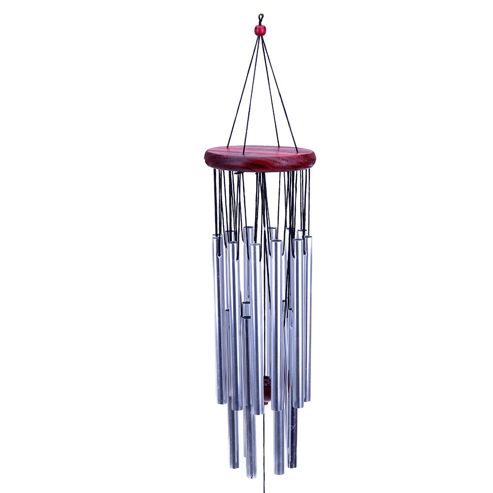 2017 18 Tubes/6 Tubes Bell Wind Chime Hanging Decoration Home Window Decor Outdoor Garden Yard Home Living Wind Chimes