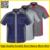 Dos homens camisa pólo de manga curta de Alta qualidade camisa polo jaqueta workwear trabalho camisa camisa uniforme engenheiro mecânico