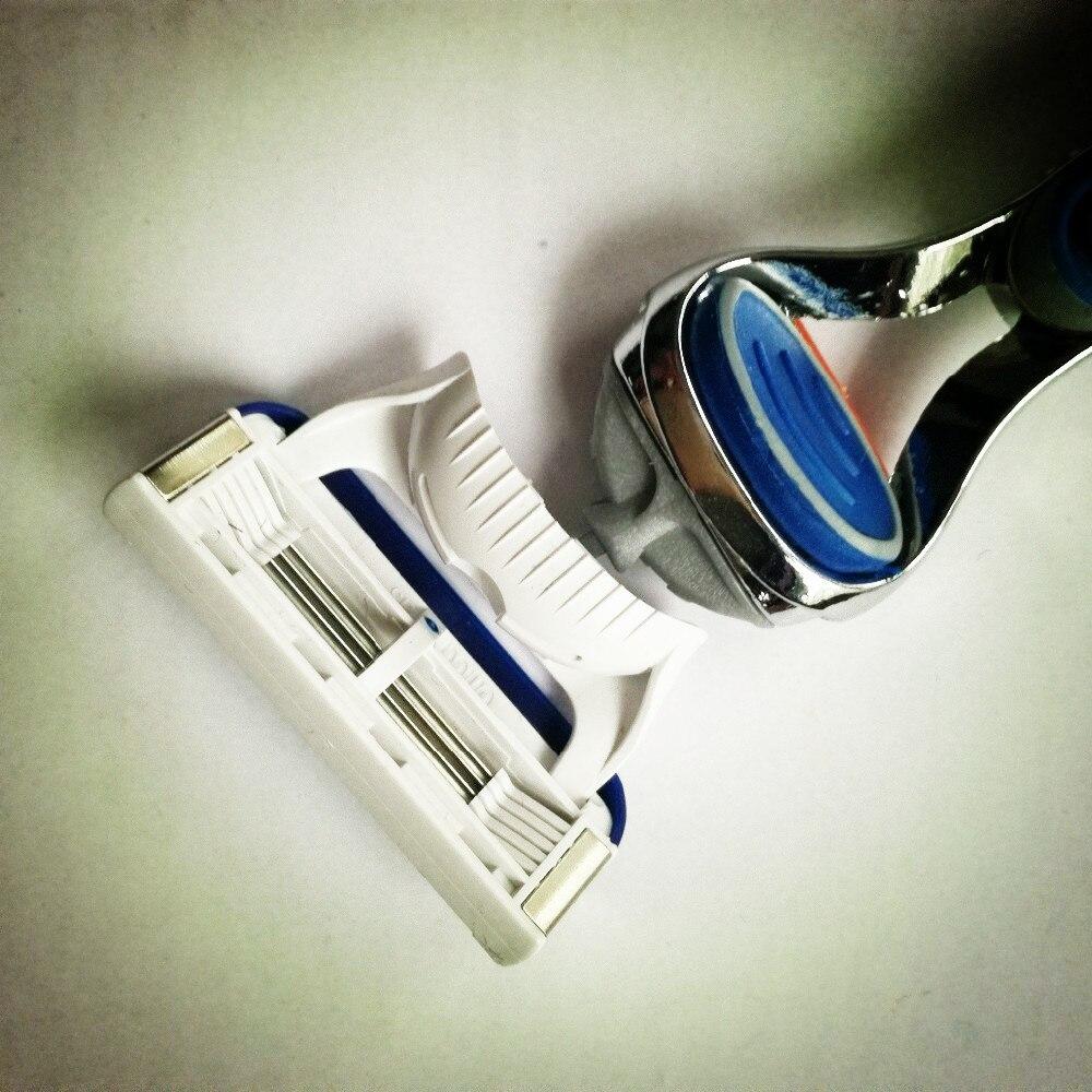 Three South 4pcs / lot Brand Quality Proglide Standard til RU & Euro - Barbering og hårfjerning - Foto 5