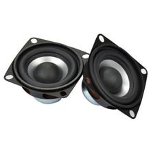 مكبر صوت AIYIMA 2 قطعة 2 بوصة عالي الدقة قابل للنقل تردد كامل ثلاثة أضعاف حساسية عالية مكبرات الصوت مكبرات الصوت 4 أوم 12 واط