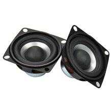 AIYIMA 2PC 2 Inch Hifi Portable Full Frequency Speaker Treble Hight Sensitivity Tweeters Audio Loudspeakers 4 Ohm 12W Speaker
