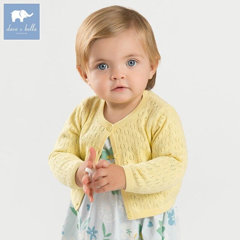 DBA6568 dave bella spring infant baby girls fashion cardigan kids toddler coat lovely children knitted sweaterDBA6568 dave bella spring infant baby girls fashion cardigan kids toddler coat lovely children knitted sweater