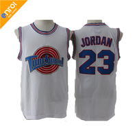 Space Jam TuneSquad Basketball Jerseys BUGS 1 DUCK 2 LOLA 10 MURRAY 22 JORDAN Jersey 23