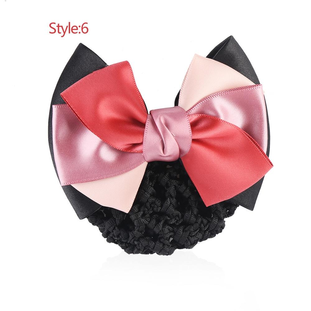 Baby Pink Net /& Satin Bow Headband
