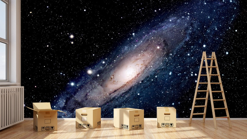 [Self-Adhesive] 3D Universe Galaxy Space 44 Wall Paper Mural Wall Print Decal Wall Murals
