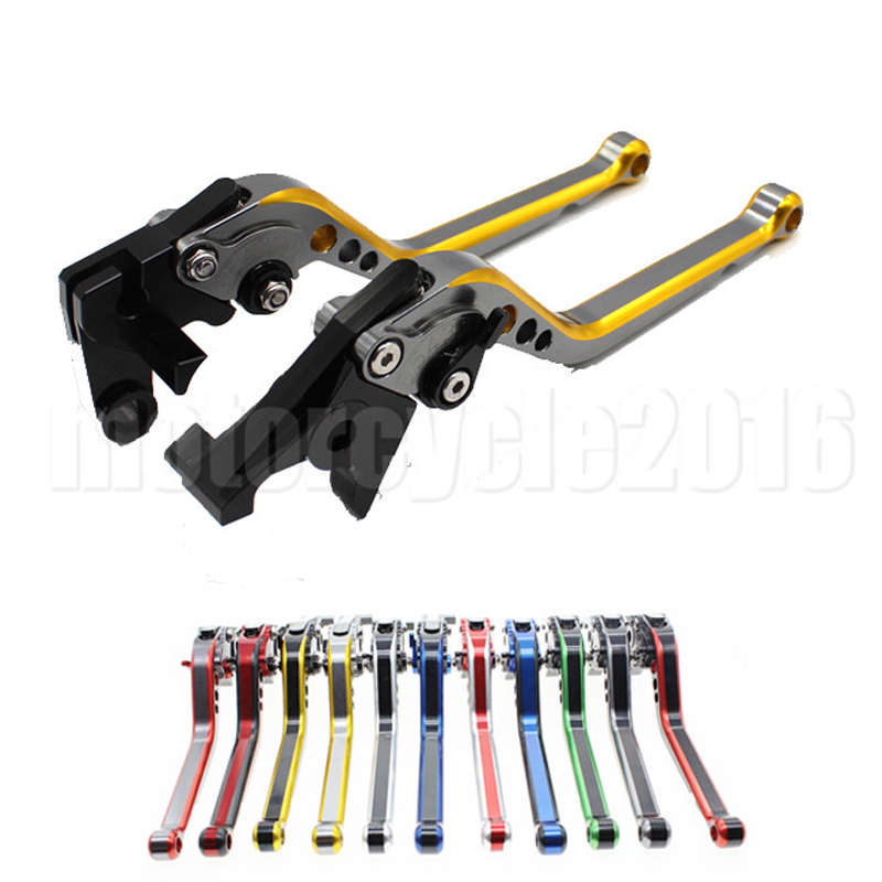 MIX Color Adjustable Motorcycle Brake Clutch Lever Handle For Suzuki Katana 750 GSX750F 1989-2006 GSXR750 1989-1995 Moto Lever free shipping new brake pads for front suzuki gsx 750 f katana 1989 1997 motorcycle braking organic oem