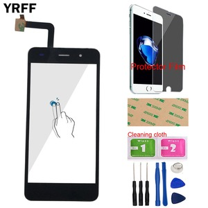 Image 1 - Touch Screen Panel For Fly Cirrus 13 FS 518 FS518 Touch Screen Touch Panel Glass Digitizer Panel Mobile Tools Protecotr Film