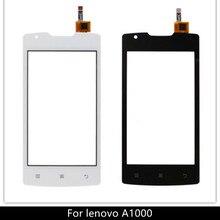 4,0 ''сотовый телефон для lenovo A1000 Сенсорная панель сенсорный экран дигитайзер Переднее стекло сенсор для lenovo A 1000 сенсорный экран