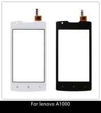 4.0 טלפון סלולרי עבור Lenovo A1000 מגע לוח מקורי מסך מגע Digitizer חזית זכוכית חיישן עבור Lenovo 1000 מסך מגע