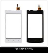 4.0 téléphone portable pour Lenovo A1000 écran tactile Original écran tactile numériseur avant capteur de verre pour Lenovo A 1000 écran tactile