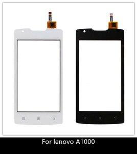 Image 1 - Teléfono Móvil de 4,0 pulgadas para Lenovo A1000, Panel táctil Original Digitalizador de pantalla táctil, cristal frontal con Sensor para Lenovo A 1000, pantalla táctil