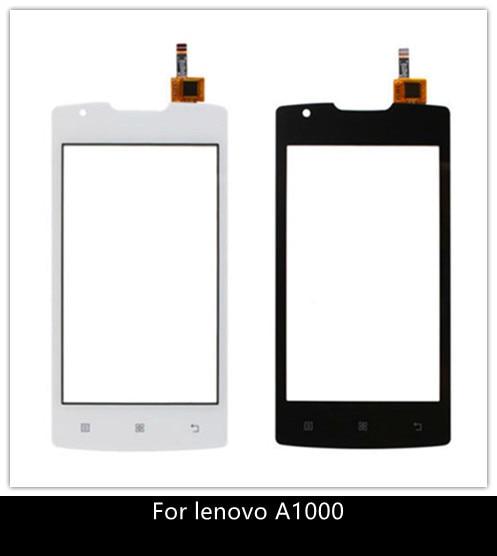 Teléfono Móvil de 4,0 pulgadas para Lenovo A1000, Panel táctil Original Digitalizador de pantalla táctil, cristal frontal con Sensor para Lenovo A 1000, pantalla táctil