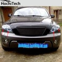 for kia Sorento RGB LED headlight halo angel eyes kit car styling accessories 2006 2007 2008 2009