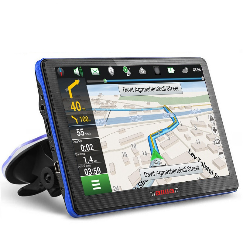 7 inch HD Car GPS Navigation Capacitive screen Bluetooth FM Built in 8GB/256M Touch Screen Map Free Upgrade sat nav vehicle gps