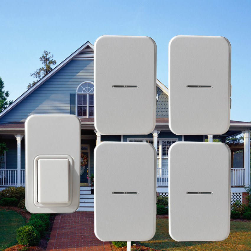 Kinetic wireless doorbell that need no battery AC240V home door bell with 38 ring tones. waterproof and high quality ring bell roomble подушка с надписью shut that door