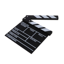 Film Directors Clapper Board HOLLYWOOD Movie Scene Clapboard Photography Props