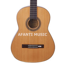 34 inch / 36 inch / 39 inch Burlywood color classical guitar of Afanti Music (ASG-120)
