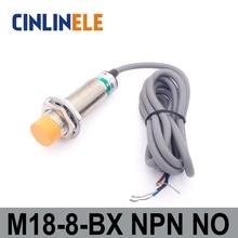 M18 LJ18A3-8-Z/BX 8 мм 6 V-36 V Измерение постоянного тока Силовые транзисторы NPN NO В Форме Призмы для индуктивного экрана переключатель датчика близости Omron LJ18A3 серии