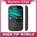 Разблокирована Оригинальный blackberry 9720 сотовый телефон 2.8 дюймов сенсорный экран WIFI 5MP камера Восстановленное мобильный телефон Freeshipping