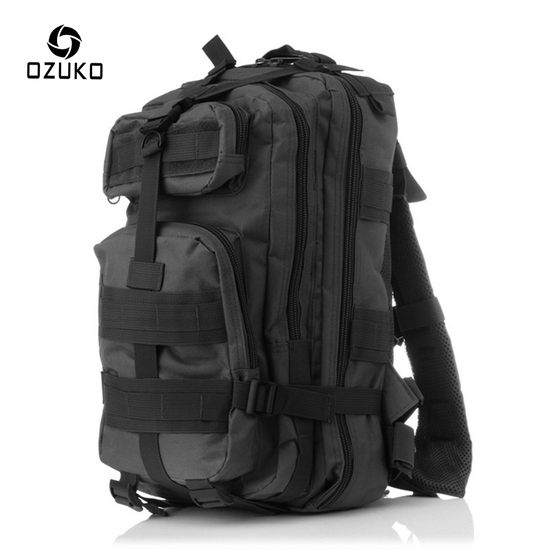 2018 OZUKO New Men Camo Backpack Multi-function waterproof Travel Rucksack Military Large Capacity Backpacks laptop Bag Mochila ozuko 14 inch laptop backpack large capacity waterproof men business computer bag oxford travel mochila school bag for teenagers