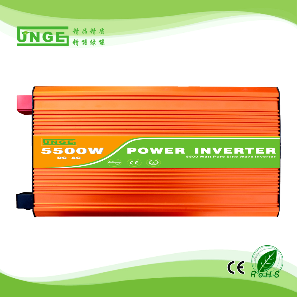 цена на 5.5KW/5500W 24/48/96V to 100/110/120/220/230/240VAC 50/60Hz residential home high frequency use pure sine wave off grid inverter