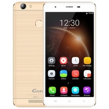 Gretel A6 4G 5.5 Inch Mobile Phone Android 6.0 MTK6737 Quad Core 1.3GHz 2GB+16GB Fingerprint Sensor 13.0MP Rear Camera Cellphone