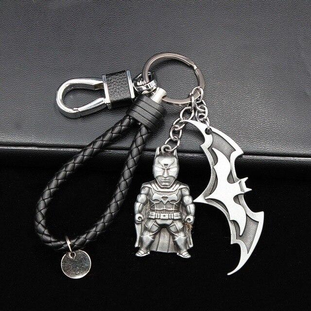 הנילוס מתכת קפטן אמריקה חומת מארוול נוקמי Keychain עכביש איש ברזל מסכת איש Keyring אביזרי מתנת צעצועים