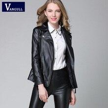 2016 primavera outono mulheres jaqueta de couro da moda curto motocicleta casaco casuais jaqueta pu leather clothing plus size senhoras outwear