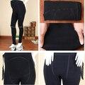 Tamanho livre engrossar calças de veludo macio para mulheres grávidas quente Leggings moda maternidade barriga espera Leggings ajustáveis