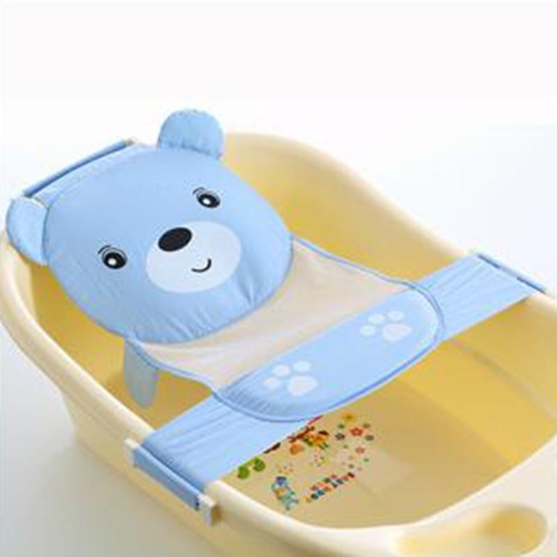 Infant Baby cartoon Safety Bath Newborn Bath Seat Bathing Adjustable ...