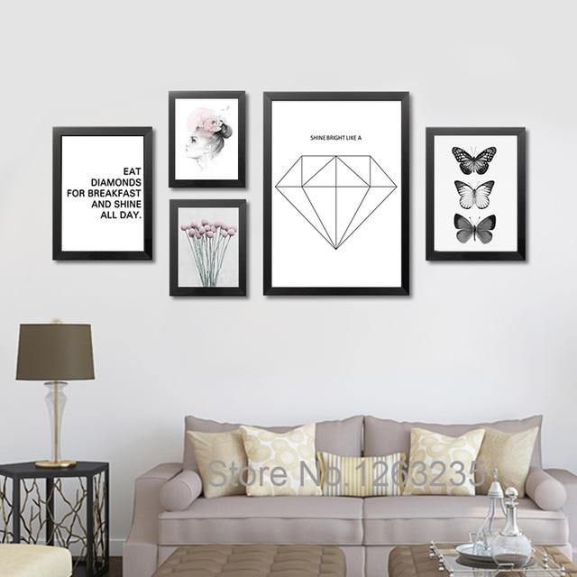 Posters En Prints Muur Pictures Voor Woonkamer Eet Diamant Cuadros ...