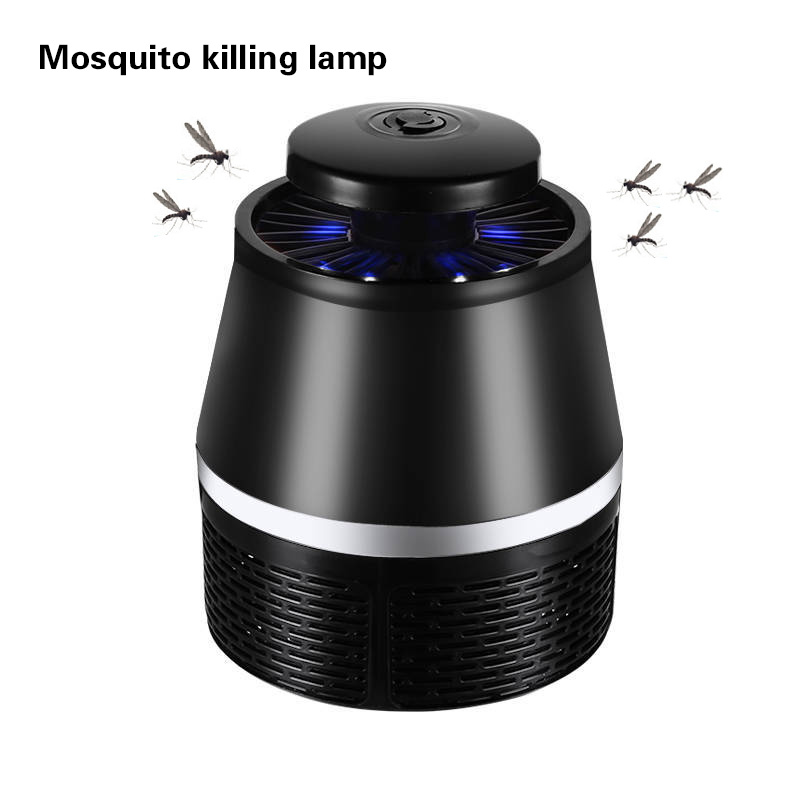 LED Sensor Night Light Insect Mosquito Killer USB Plug Flies Home House Office Anti Mosquito Bug Trap Repelente Mosquito mini night light insect mosquito repellent mosquito flies housefly home safe free shipping
