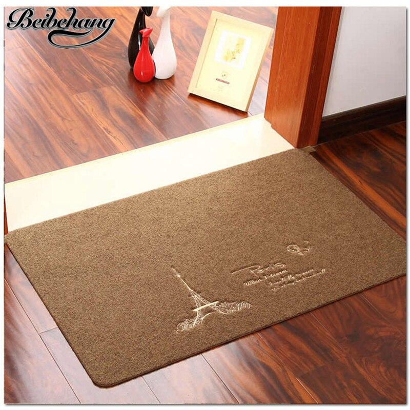 beibehang Vysoce kvalitní dveře protiskluzový koberec kuchyňské rohože domácí koberec koupelna matrace matrace pad Obývací pokoj ložnice rohože