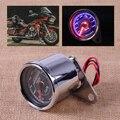0-180 км/ч Мотоциклов Двойного Пробега Спидометр Gauge Speedo Метр СВЕТОДИОДНАЯ Подсветка Для Honda Yamaha Kawasaki Suzuki KTM ATV Bobber