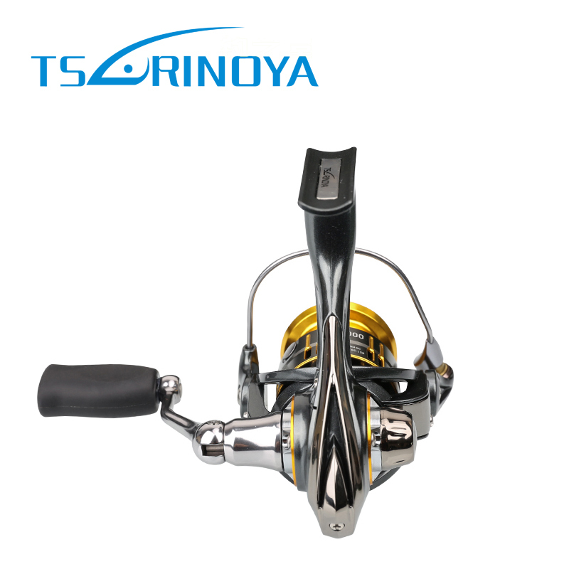 Tsurinoya FS 800 1000 2000 Ultra Light Spool Carp Fishing Spinning Reel Surfing Bait Freshwater Saltwater Spinning Fishing Reels - 3