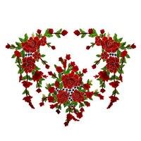 3D Patches Hoa Thêu Sew Trên Patch Cho Quần Áo Quần Áo Khoác Đính DIY Phụ Kiện Scrapbooking