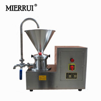 Stainless Steel Colloid Mill Peanut Coating Sesame Pigment Colloid Mill 220V 110V Peanut Butter Makign Machine