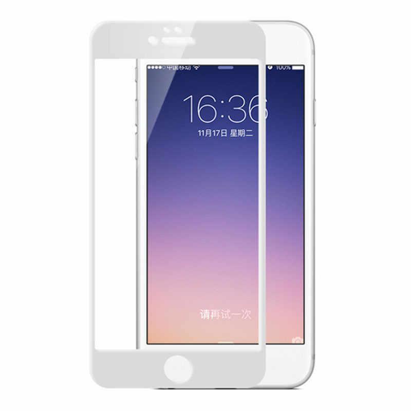 מלא כיסוי מזג זכוכית עבור iPhone XS Max XR X 8 בתוספת 7 בתוספת 6 6S בתוספת 6 בתוספת 9H מסך מגן מגן משמר
