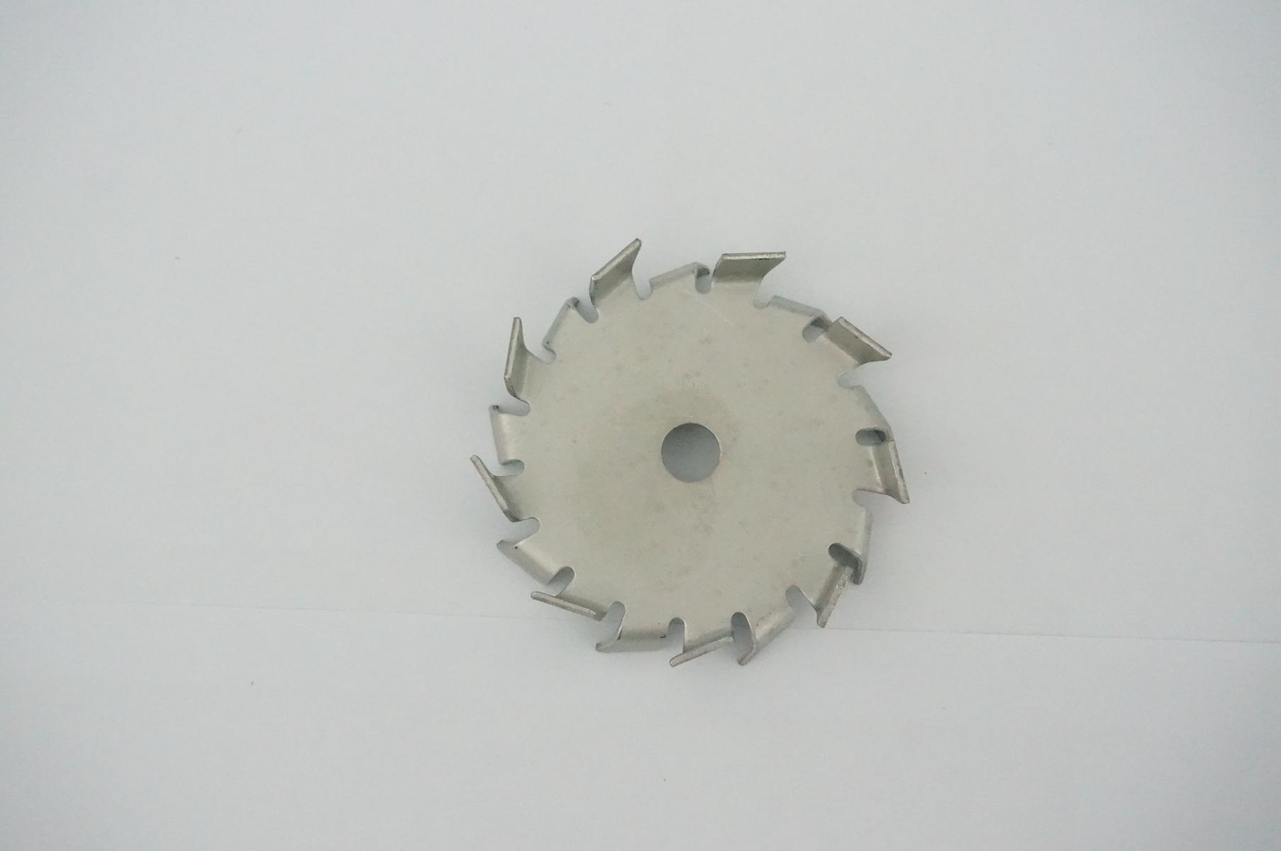 35mm 350mm Stainless Steel Stir Blade Impeller Tooth Type Dispersed Disc Gear